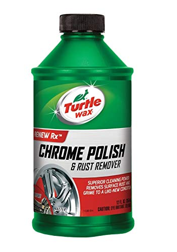 Turtle Wax T-280RA Chrome Polish & Rust Remover - 12 oz.