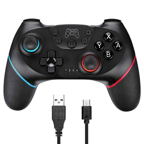 Controller di gioco wireless, joystick per gamepad wireless 2.4G, doppia vibrazione, supporto per PC (Windows XP / 7/8 / 8.1/10) e PS3, Android, Vista, TV Box/telefoni Android, tablet