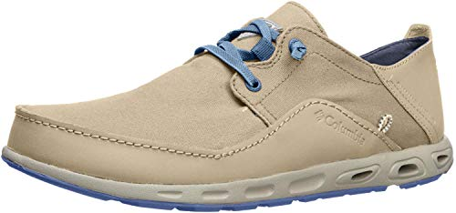 Columbia Men's Bahama Vent Relaxed PFG Shoe Ancient Fossil/Steel Size 8.5 M US
