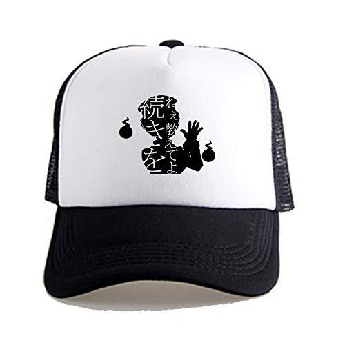 JJZD WC-Bound Hanako-kun: Gorra de béisbol Yugi Amane Unisex, Ocasional con Estilo Transpirable Sombrero, Sombrero de la Pesca Net Cap Caballo Senderismo Sombrero, Hip Hop Visera Cap Montañismo