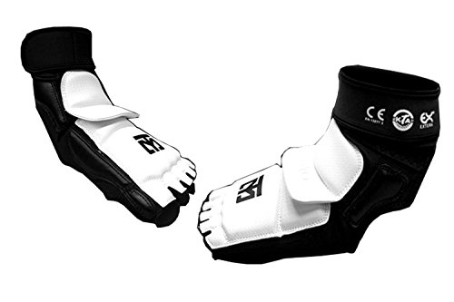 MOOTO Taekwondo Foot Protector Season2 TKD Foot Gear KTA Approved XXS to XL (3.S)