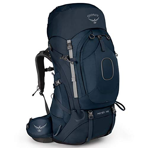 Osprey Xenith 75 Men's Backpacking Backpack, Discovery Blue, XL