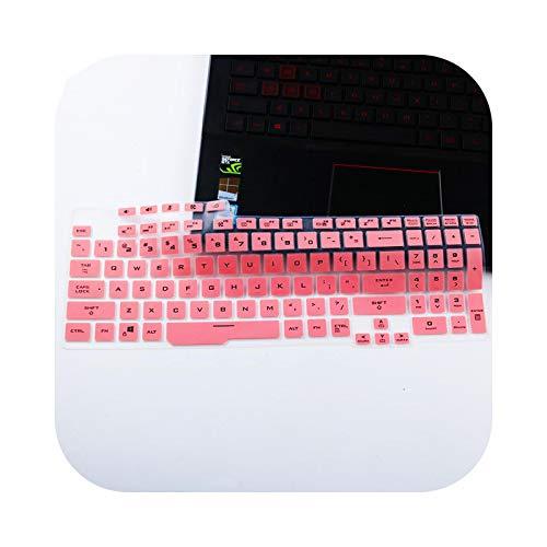 Teclado para teclado Asus Tuf Gaming F15 FX506LI FX506LH FX506IV FX506 / ASUS TUF F17 FX706LI FX706 FA706 - Color rosa