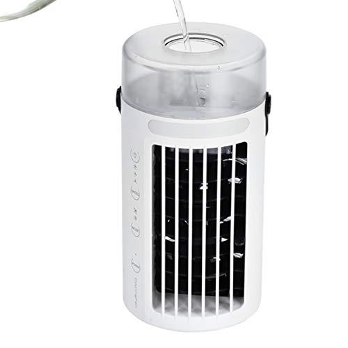 Met Ventilator En Door Verdamping Luchtbevochtiger, Touch Panel Draagbare Luchtbevochtiger Stille Elektrische Ventilator Voor Indoor Kantoor Aan Huis Slaapzaal
