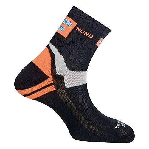 Mund Socks – Running/Cycliste, Couleur Black Taille EU 38 – 41