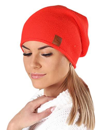 Mikos* Beanie voor dames | wintermuts voor dames verkrijgbaar in vele kleuren | herfstmuts dames | Long Slouch Beanie | muts met hoog draagcomfort | 699