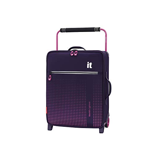 it luggage World's Lightest Vitalize 2 Wheel Super Lightweight Suitcase, Purple, 57 cm