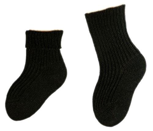 Shimasocks Baby Socken 100prozent Schurwolle, Farben alle:mocca, Größe:13/14 bzw. 50/56