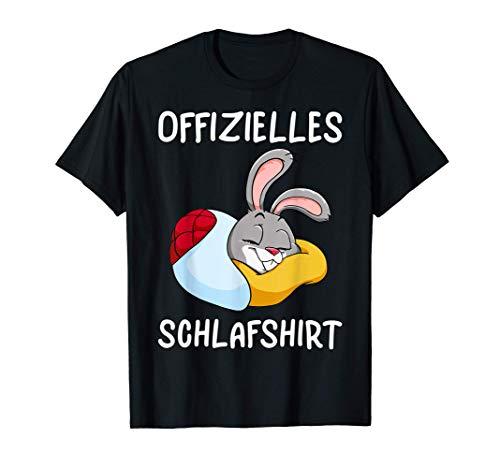 Offizielles Schlafshirt - Hase Schlafanzug Pyjama Party T-Shirt