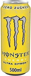 Monster Energy Flavour Ultra Citron EINWEG, 1 x 0,5 l