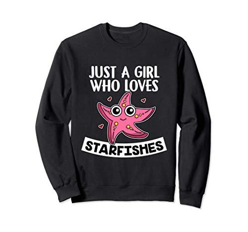 Just A Girl Who Loves Starfishes Disfraz De Estrella De Mar Sudadera