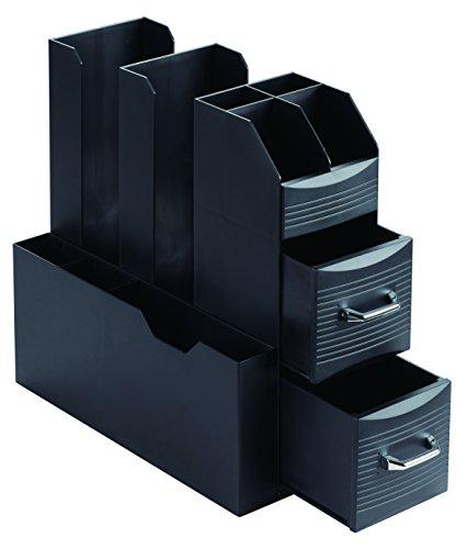 Archivo 2000 - CD901 NE - Organizador con compartimentos para cápsulas. Hora del café.