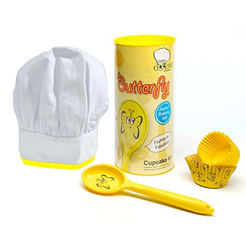 Childrens/Kids Character Cupcake Baking Set (One Size) (Yellow/White)