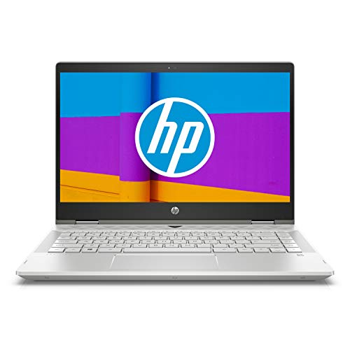 HP Pavilion x360 14-cd0001nf Ultrabook FHD 14' Argent (Intel Core i5, 8 Go de RAM, SSD 256 Go, Intel UHD 620, Windows 10)