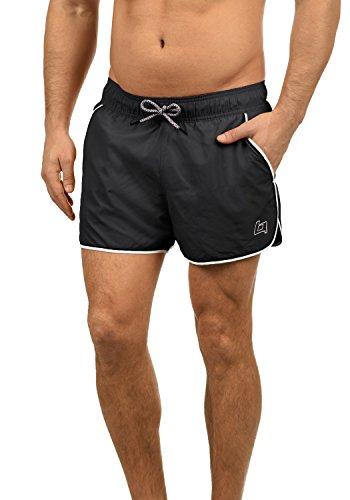 Blend Balderian Bañador De Natación Short para Hombre, tamaño:XL, Color:Black (70155)