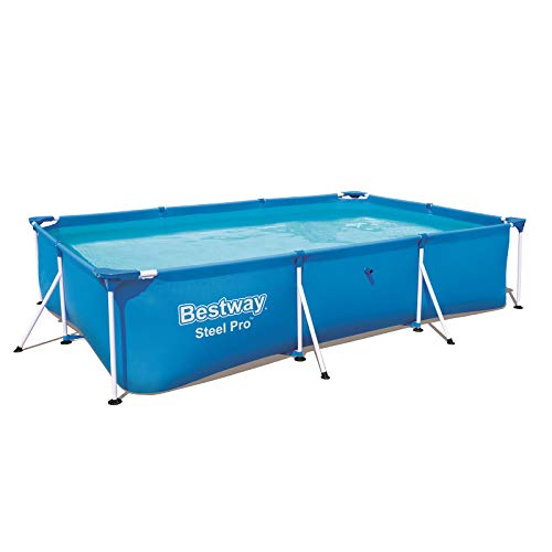 Bestway Rectangular Frame Swimming Pool, Steel Pro, 9.1 ft