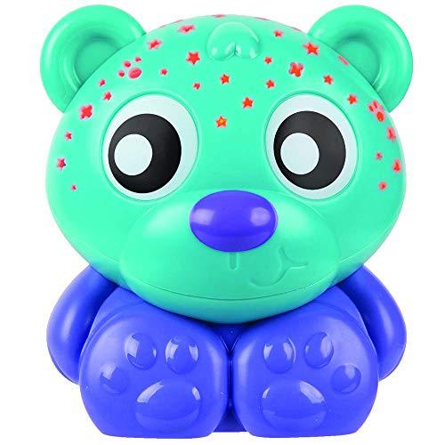Playgro Goodnight Bear Night Light and Projector, Green