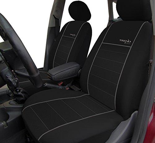 Autositzbezüge, Schonbezüge Trend Line Passend für Dacia Duster - Universal Stoffsitzbezug Zum Sonderpreis!!! in Diesem Angebot Grau.