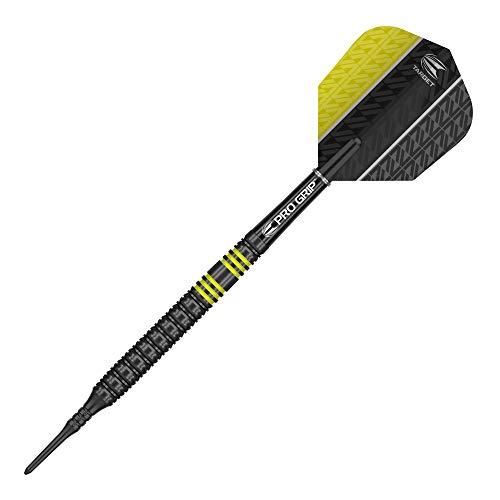 Target Darts Vapor 8 Black Softdarts, Gelb - 3