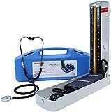 Professional Arm Sphygmomanometer, Precision Aneroid Sphygmomanometer Home Manual Blood Pressure Machine Handheld Desktop Blood Pressure Measuring Instrument