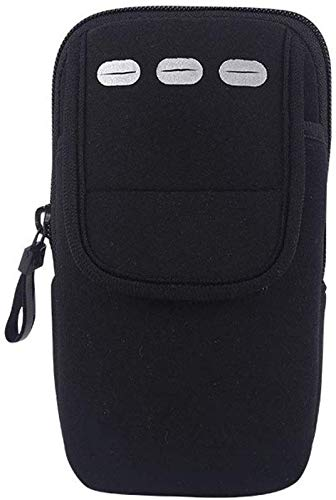 Sywlwxkq Running Phone Arm Bag, Sport Arm Set/Cute/Odorless/Universeel/Hangend/Licht/Rits/Duurzaam/Handig/Nylon/Ademend/Verdikt/Elastisch