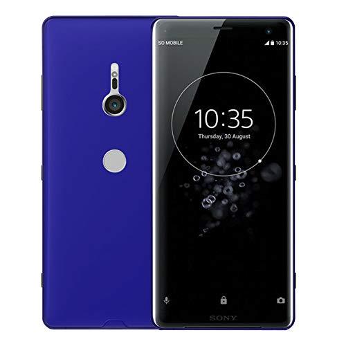 TBOC Blau Gel TPU Hülle für Sony Xperia XZ3 (6.0 Zoll) Superdünn Flexibel Silikon Gehäuse für Handy [Nicht Kompatibel mit [Sony Xperia XZ1]]