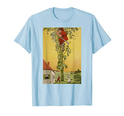 The Giant Jack and the Beanstalk Giant Classic Fairy Tale T-Shirt