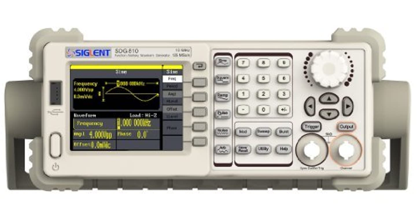 レバー促すセクタSiglent Technologies SDG805 Siglent Single Channel 5 mhz Bandwidth Signal Generator Function Generator Arbitrary Waveform Generator 125 MSa/s Sampling Rate [並行輸入品]