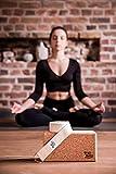 Zoom IMG-1 yogibato yoga block sughero stabile