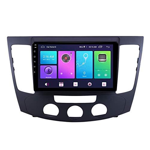 Android 10.0 Coche estéreo, Radio para Hyundai Sonata NFC 2009-2010 Navegación GPS GPS Unidad de cabeza de 9 pulgadas Player MP5 Multimedia Player Video Receptor Tracker con 4G WiFi DSP MirrorLink