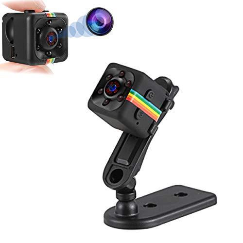 KEMOO Mini Kamera,HD 1080P Super Kleine Cam,Tragbare Mikro Überwachungskamera mit Bewegungsmelder und Infrarot Nachtsicht,Compact Akku Kameras für Innen und Aussen