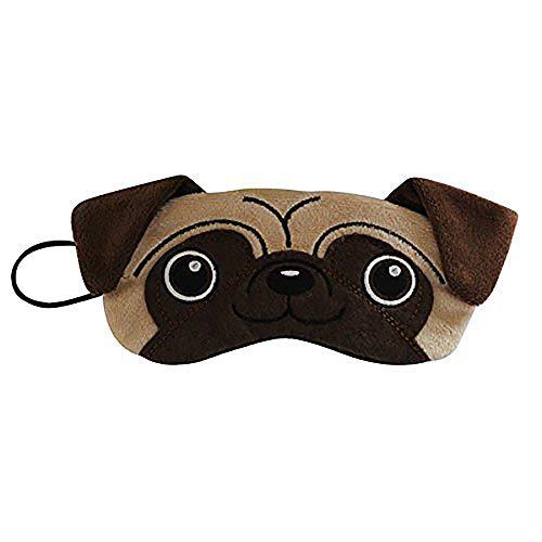 Pug Plush Dog Comfortable Sleep Eye Mask