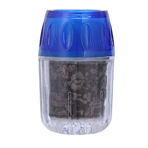 SODIAL Kokosnusskohle Wasserfilter Filter Reiniger Patrone Home KüChenarmatur Wasserhahn, Blau