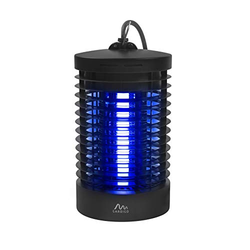 Gardigo Insektenvernichter elektrisch mit UV-Licht I Elektronischer Mückenschutz gegen Mücken, Fliegen, Moskitos - Insektenabwehr für 25 m²