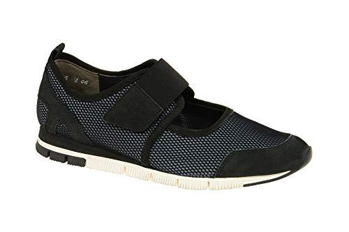 Paul Green Sneaker - zwart - klittenbandsluiting