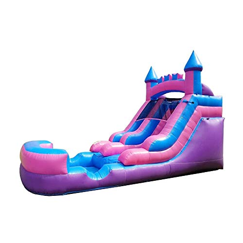 in budget affordable Pogo Bounce House Inflatable Waterslide – 13.5 feet high, 21 feet long, 9 feet wide –…