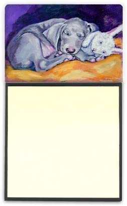 Weimaraner Popular overseas 5 ☆ popular Snuggle Bunny Sticky Note Holder
