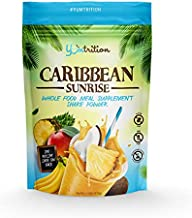 Yumtrition Meal Replacement Shakes Protein Powder Healthy Drink Supplement. Grass Fed Whey. Low Carb Nutritional Smoothie Ideal for Weight Loss. Gluten Free. for Women & Men. Caribbean. 15 Servings