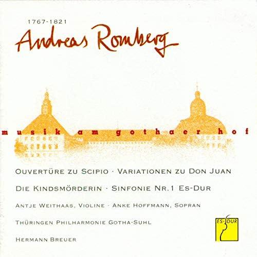Thüringen Philharmonie Gotha, Hermann Breuer, Antje Weithaas, Anke Hoffmann & Suhler Singakademie