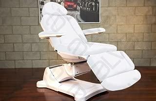Spa Salon Electric Facial Hydraulic Chair Bed Table High End Equipment Monte Carlo (Black)