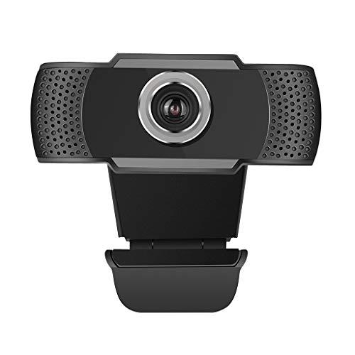 Sayla HD USB HD 720P Webcam mit Geräuschunterdrückendem Mikrofon PC Laptop Desktop Webkamera für Videoanrufe, Studieren, Konferenzen, Aufzeichnen, Spielen (Schwarz)