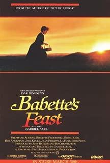 Movie Posters Babette's Feast - 27 x 40