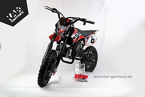 KXD Pocketbike 49ccm Cross 708A E-Start (schwarz)