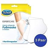 Scholl EXPERTCARE Intensiv pflegende Fußmaske in Socken – Feuchtigkeitsspendende Fußpflege