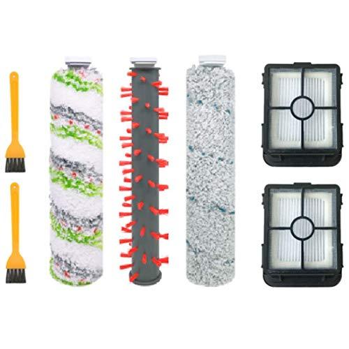 YBINGA Cepillo de mascotas Alfombra Cepillo de piso Filtro de cepillo adecuado para 2554A Aspiradora Accesorios, 7 piezas de aspirador