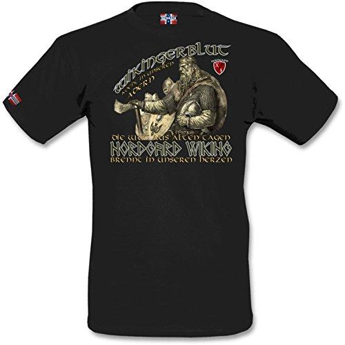 NORDGARD Shirt WIKINGERBLUT Wikinger Shirt für Damen und Herren des Modelabels (XL)