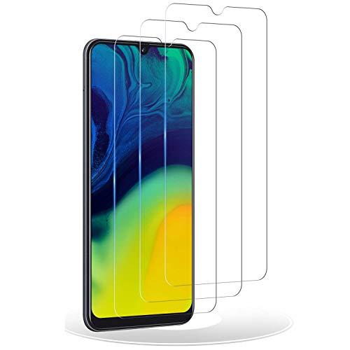 RIIMUHIR Verre Trempé pour Samsung Galaxy A50,[3 pièces] Samsung A50 Film Protection écran,[Anti Rayures] [sans Bulles] [Dureté 9H] Définition Vitre Protection pour A50