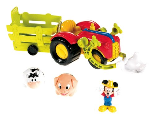 Fisher Price - X4985 - Figurine - Jouet Premier Age - Tracteur Mickey