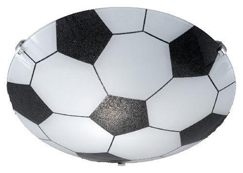 Trio 6160011-00 Serie 6160 - Plafón, bombilla excluida, E27, 60 W, 230 V, A++, E, IP20, 7,5 x 30 x 30 cm, diámetro 30 cm, aluminio
