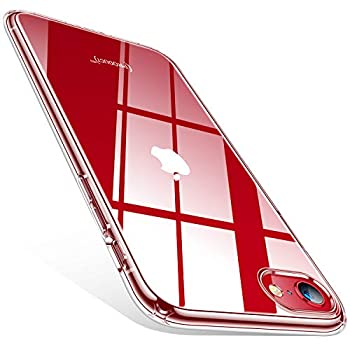 TORRAS Crystal Clear Compatible for iPhone SE 2020 Case & iPhone 8 Case [Non-Yellowing] Shockproof Transparent Slim Soft Phone Cases 4.7 inch Clear